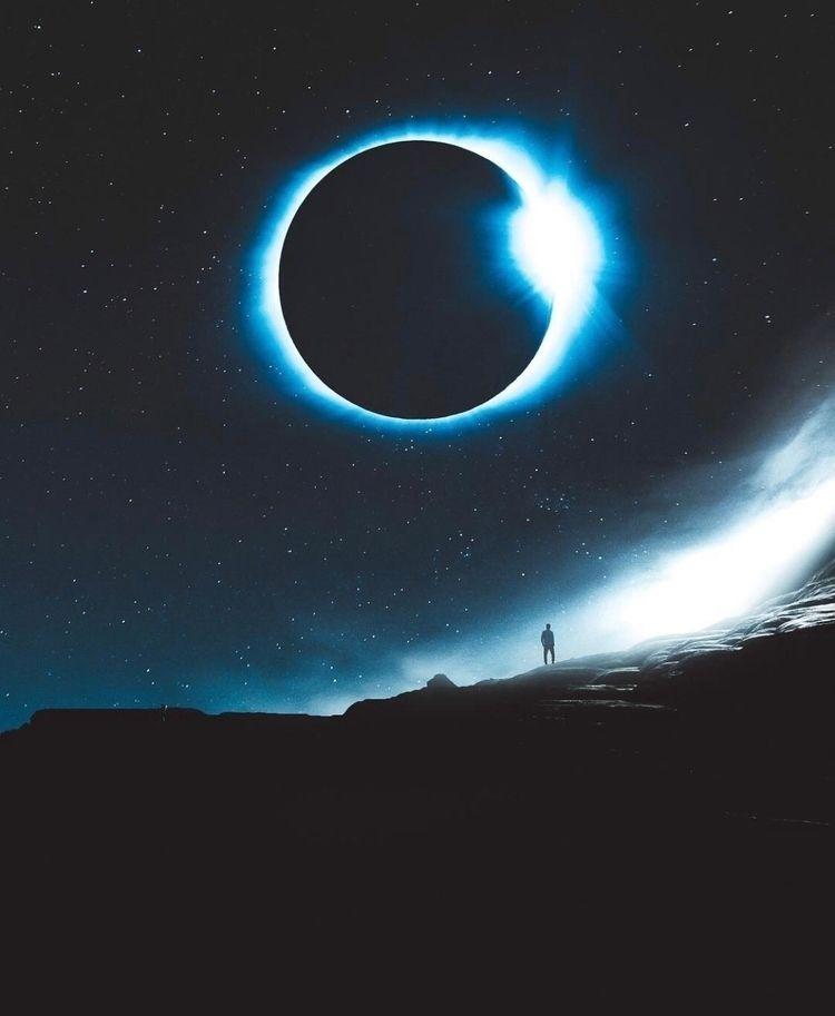 Eclipse!  - photoshop, art, design - nick_asphodel | ello