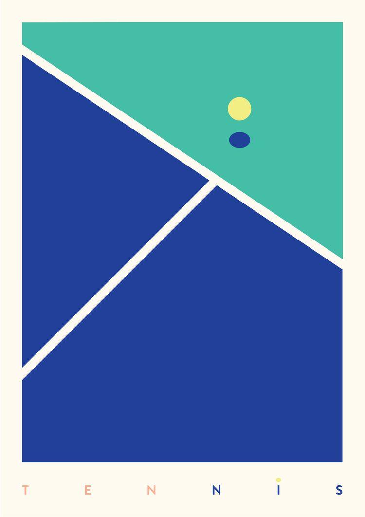 sports, graphicdesign, illustration - gabrielnazoa | ello