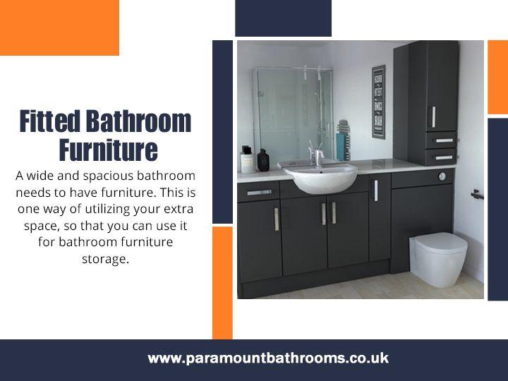 Fitted Bathroom Furniture perfe - paramountbathrooms | ello