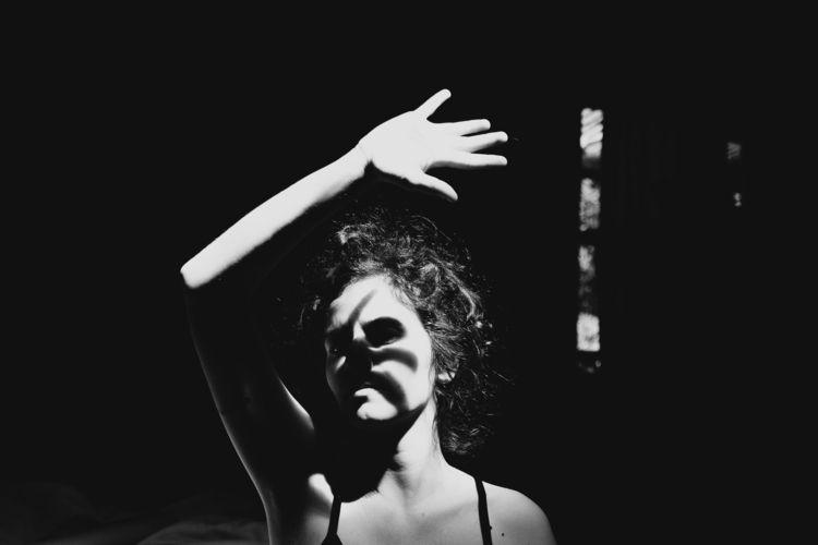 selfportrait, blackandwhite, photography - treveo | ello