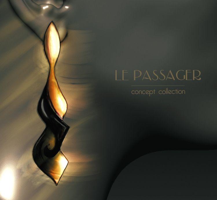 'Le Passager' - concept jewelry - lucianalancaster   ello