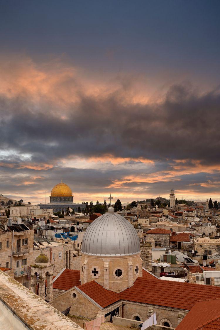 Jerusalem city cityscape, 2019 - souff | ello