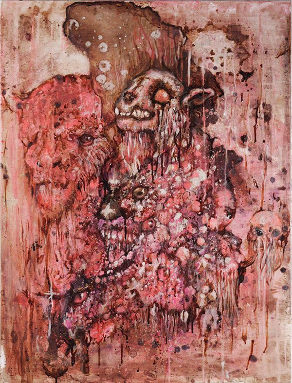 Painting Argwohn (Coffee, tea,  - hoploid_angelamercedesdonnaotto   ello