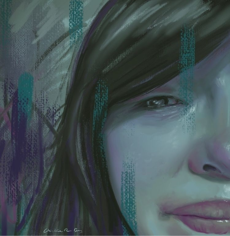 Grief, digital - digitalpainting - christinerbay | ello