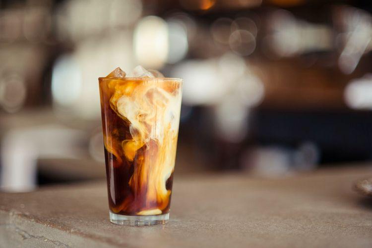 Great shot glass iced coffee! f - lineboyum | ello