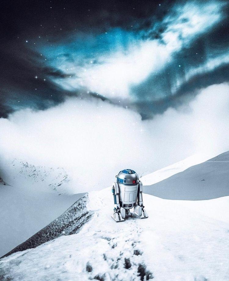R2-D2!  - photoshop, art, design - nick_asphodel | ello