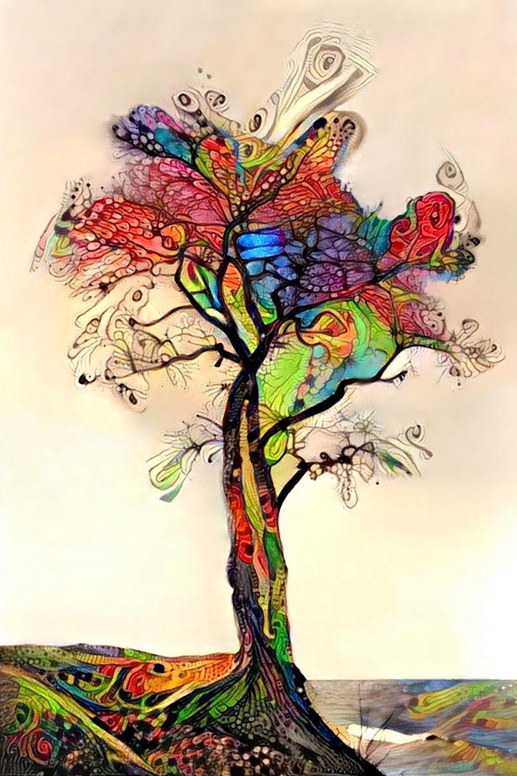 Rainbow tree 2 rainbow Shell Co - kenlong   ello