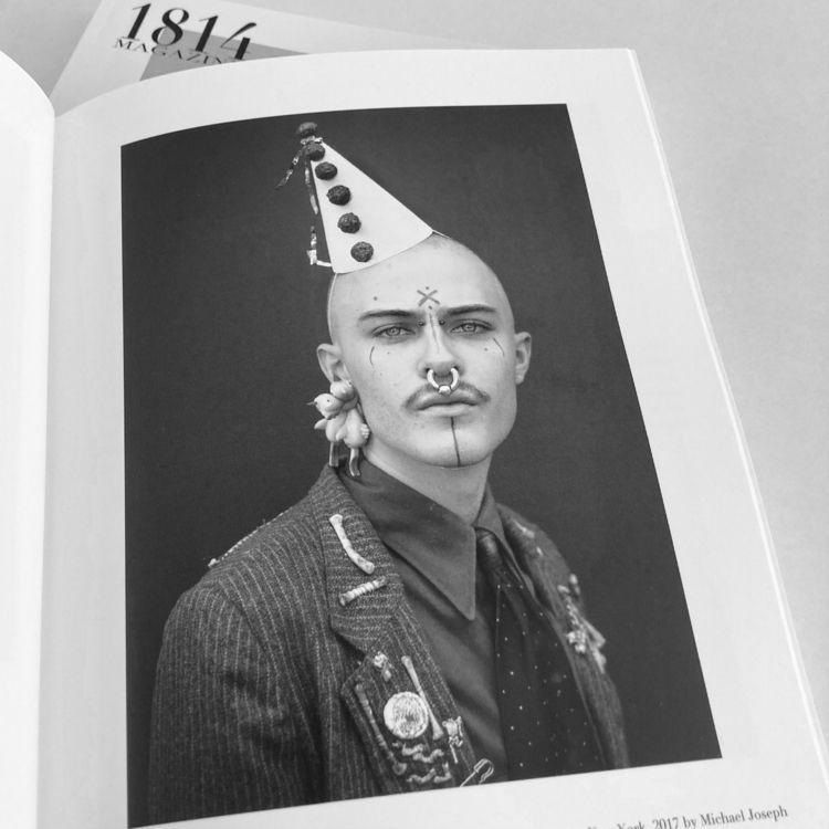 """""""Brillo Clown. Brooklyn, York.  - 1814magazine   ello"""