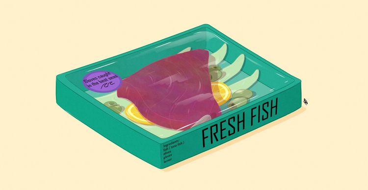 Fresh Fish 2 - art, color, characterdesign - md-art | ello
