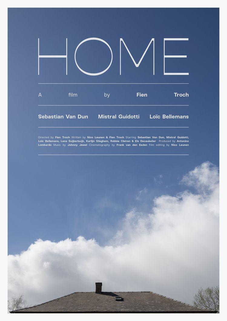 Film poster Home (Belgium, 2016 - mathieuvancamp | ello