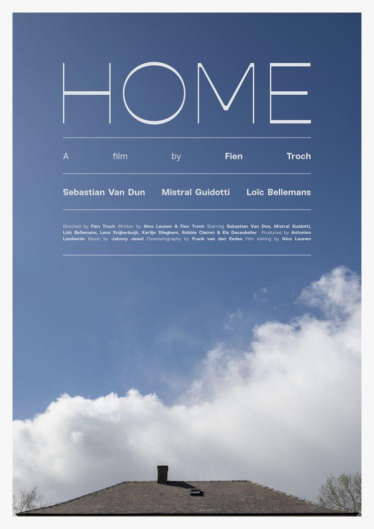 Film poster Home (Belgium, 2016 - sarahschrauwen | ello