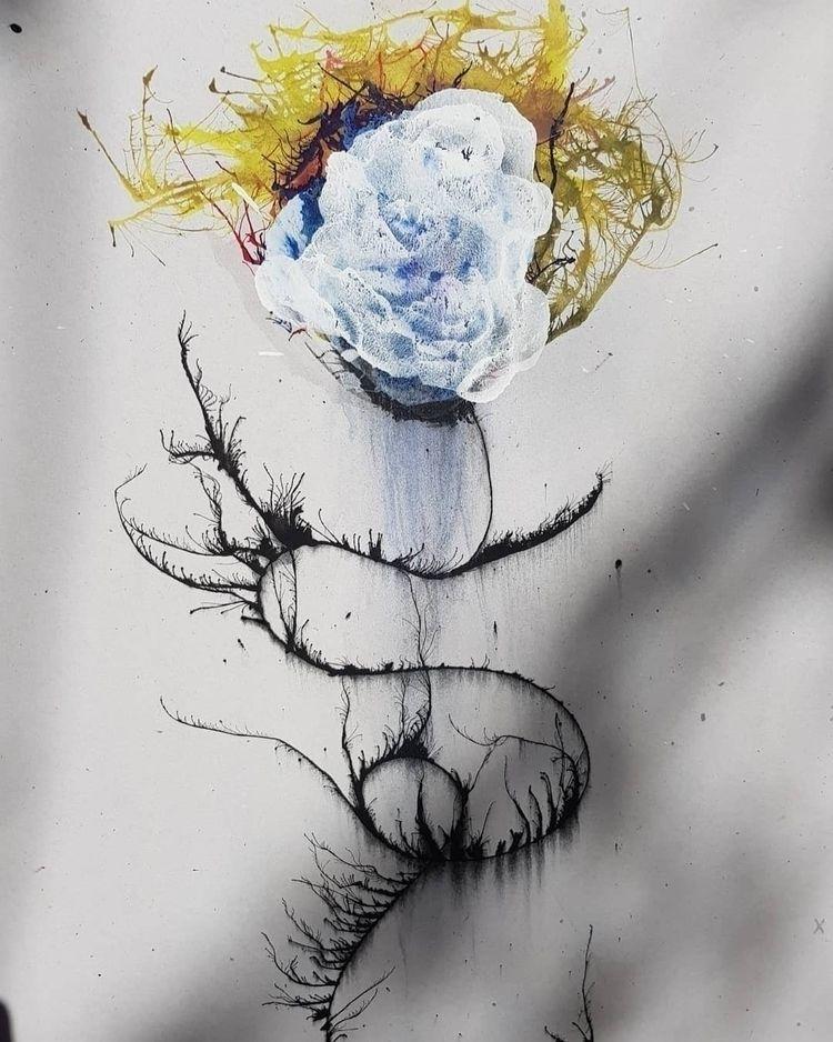 Grow, Erase // 2021 - flowers, abstract - willmattlegg | ello