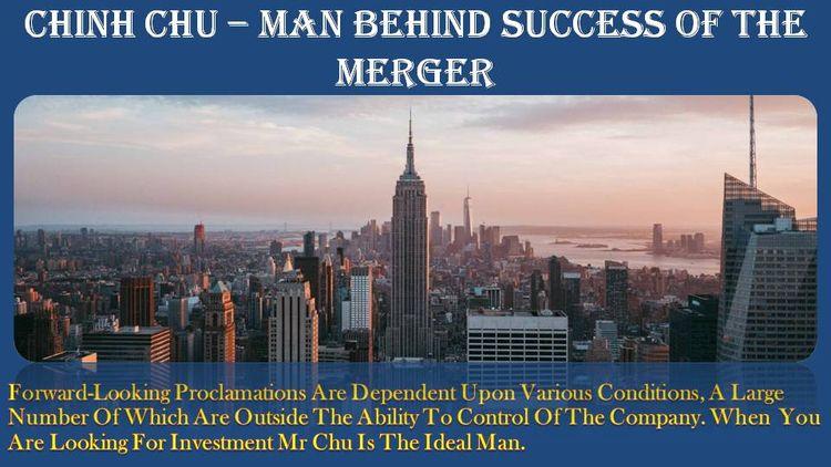 Chinh Chu – Man Success Merger  - chinhchucccapital | ello