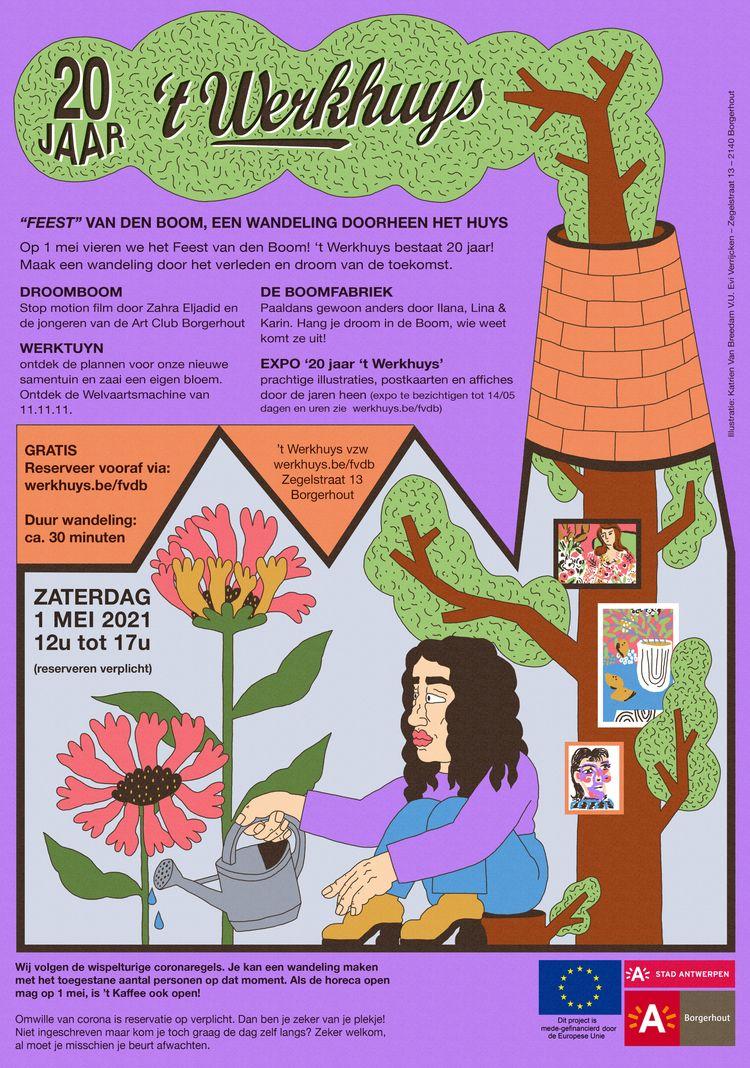 Poster Werkhuys - katrienvanbreedam | ello