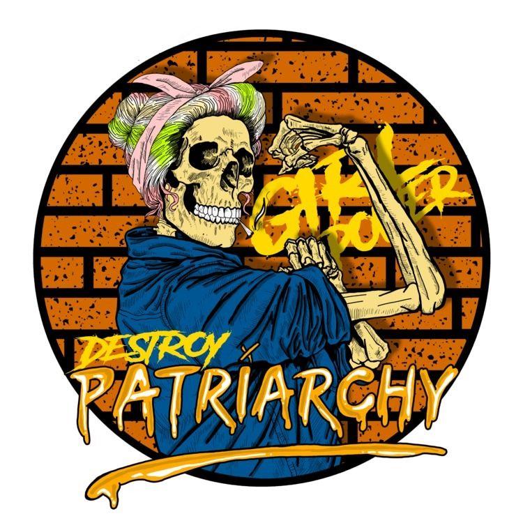 design, skull, destroypatriarchy - die_at13 | ello