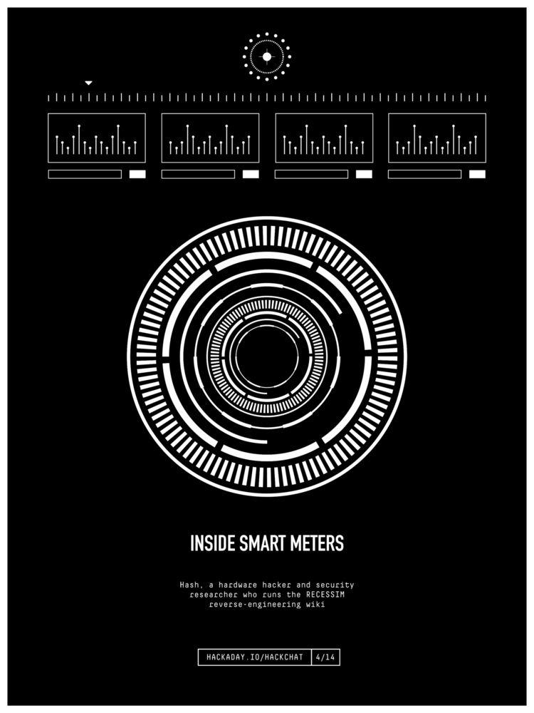 Smart Meters HackChat - poster, design - randomwalks | ello