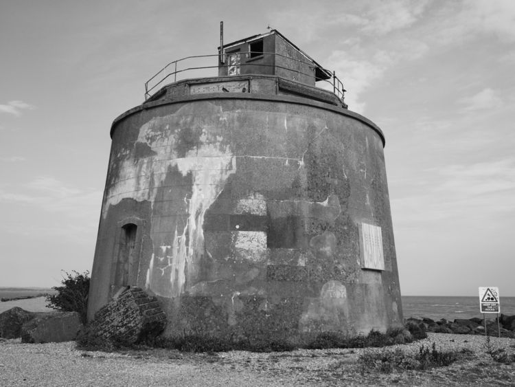 Number 66 Martello Tower number - skazman | ello