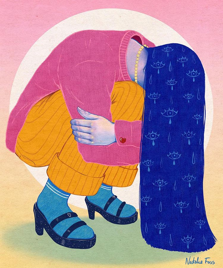 illustration, procreate, digital - nataliefoss | ello