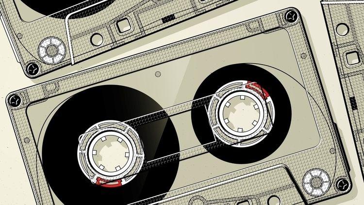 Tape - illustration, tape, cassette - mario-maxter | ello