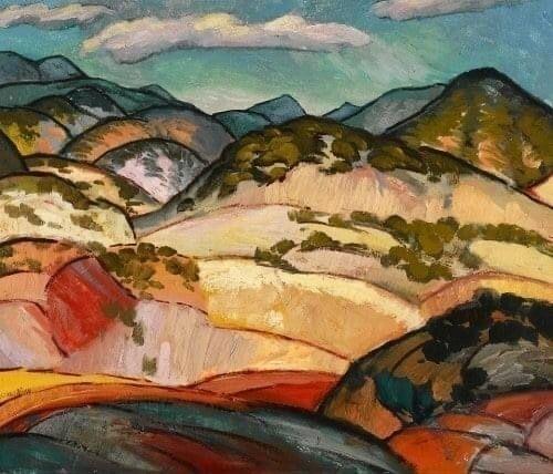 Willard Nash, Santa Fe Landscap - jc-arts | ello