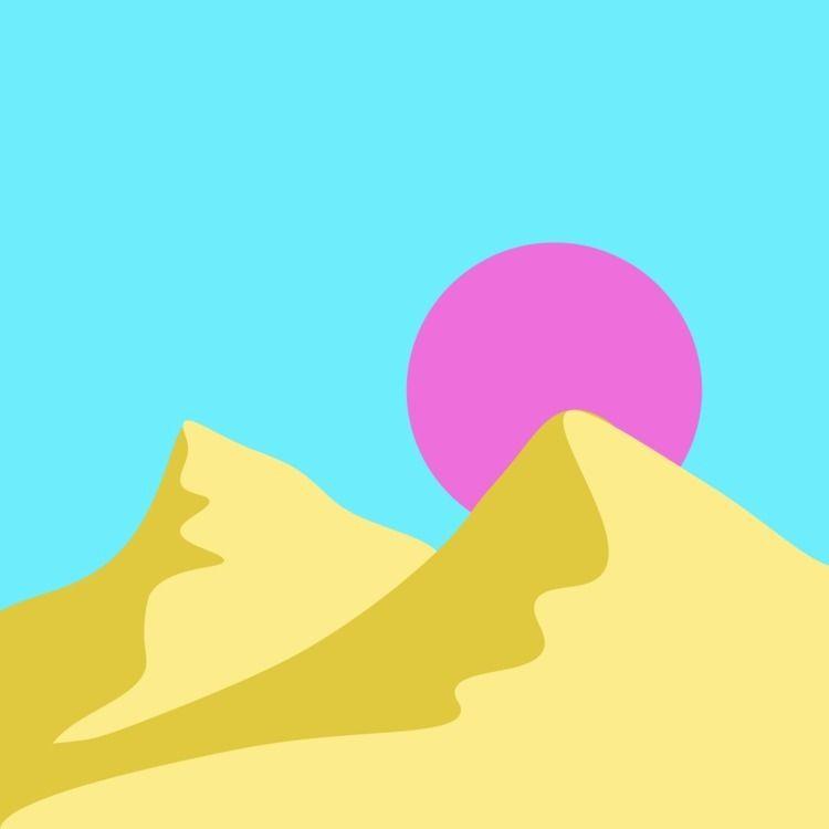 desert - servalfandango | ello