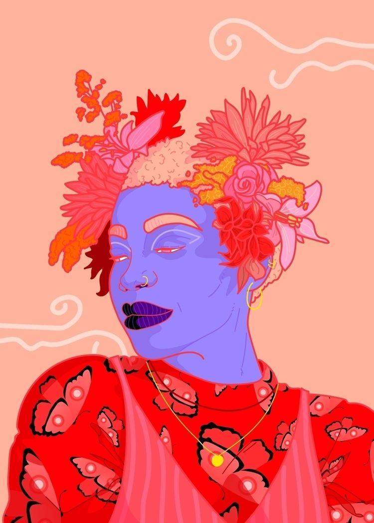Thought spring themed artwork w - resalami | ello