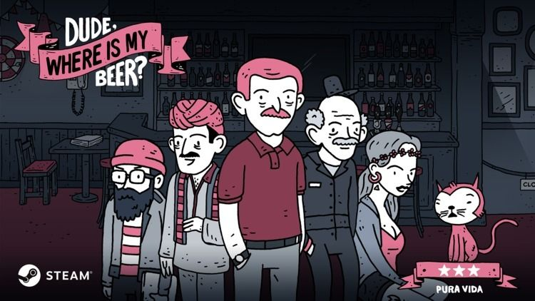 Dude, Beer? Review throwback fa - comicbuzz | ello