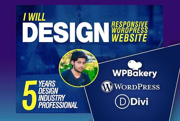 Design Responsive WordPress sit - hamzajaani   ello