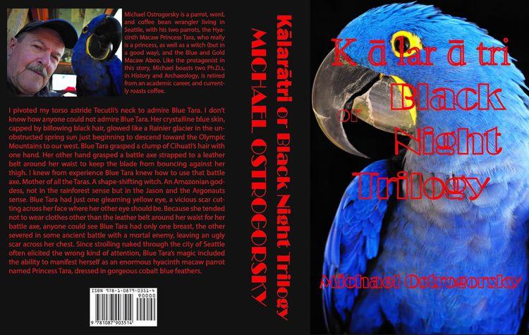 Blue Parrot Books. Kālarātri Bl - michaelostrogorsky | ello