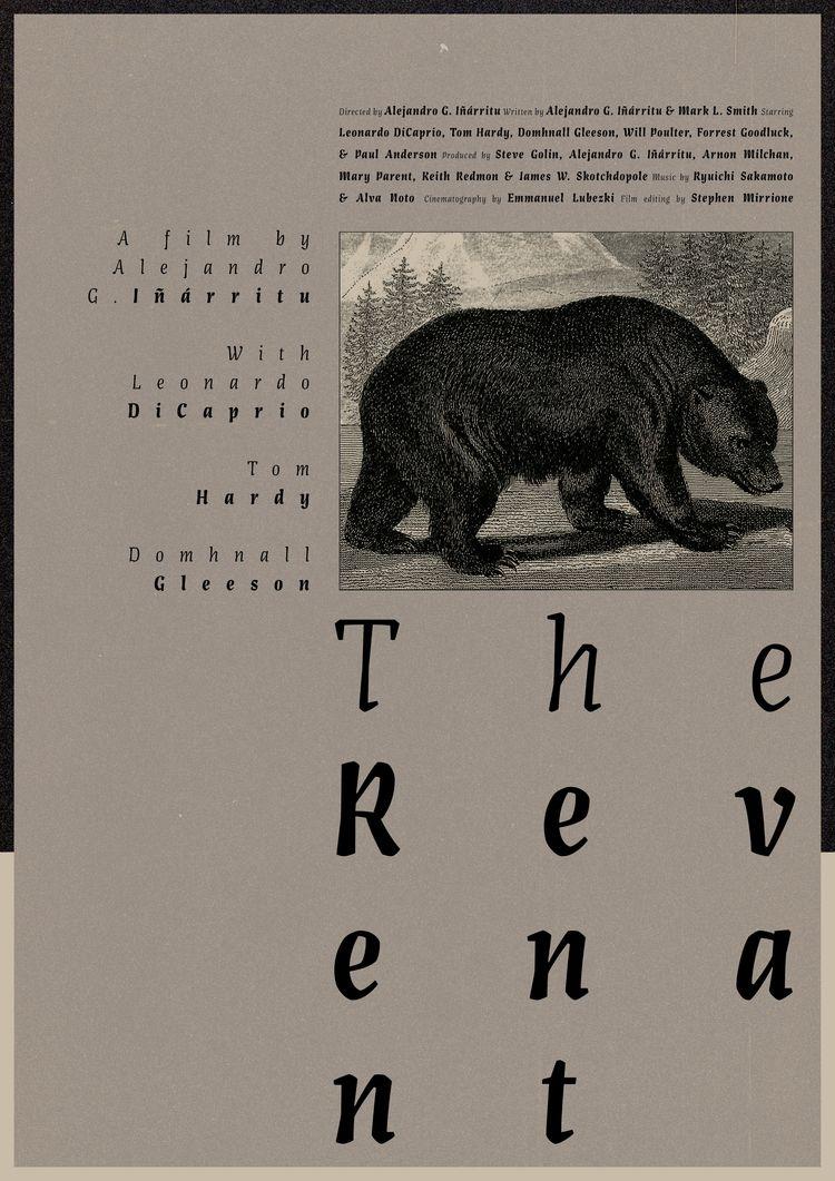 Film poster Revenant (USA, 2015 - sarahschrauwen | ello