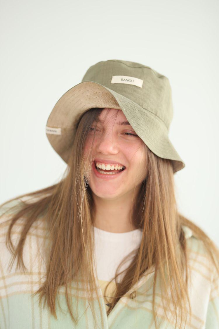 Fisher Hat Kutnu Fabric - slowfashion - bengisuakantarcihekim | ello
