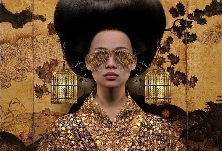 Empress - Hair practice render - z3rogravity | ello