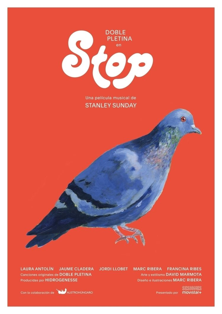 Poster Stop, musical film Stanl - marcribera | ello