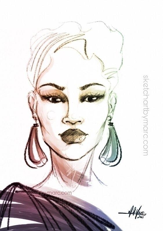 Gradient - sketch, illustration - sketchartbymarc | ello