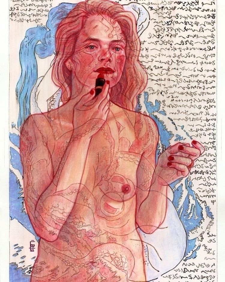 « Woman » 7.5 11 inches Waterco - maryamgohar | ello