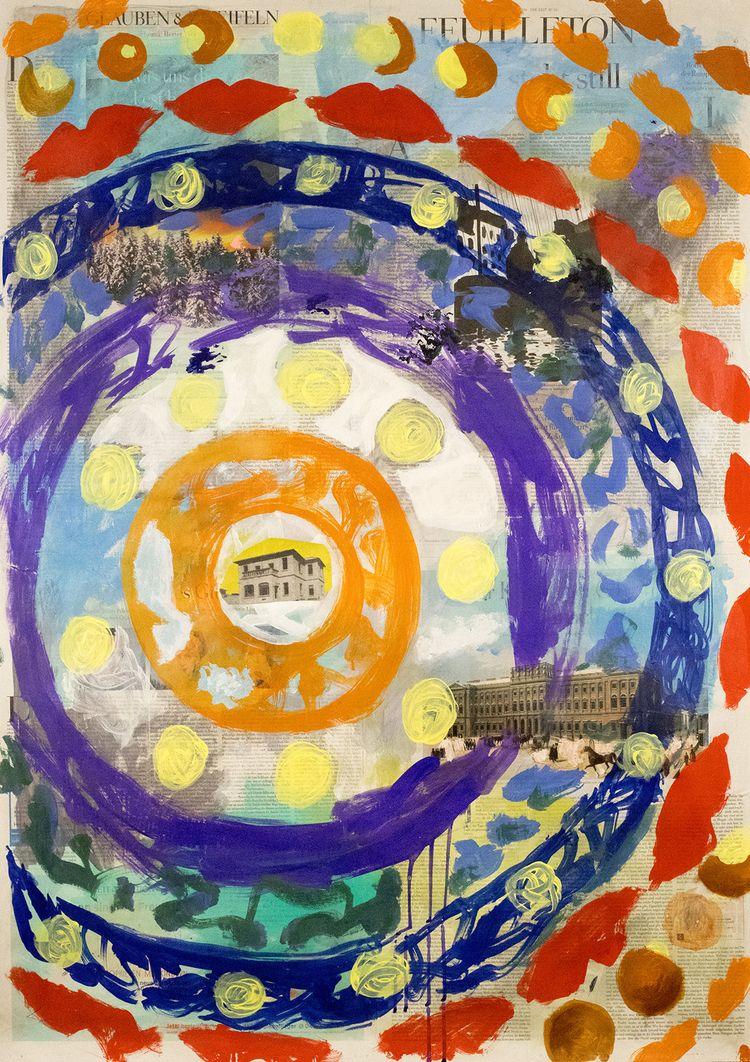 Palais - Circle Vibes, painting - boraistudio | ello