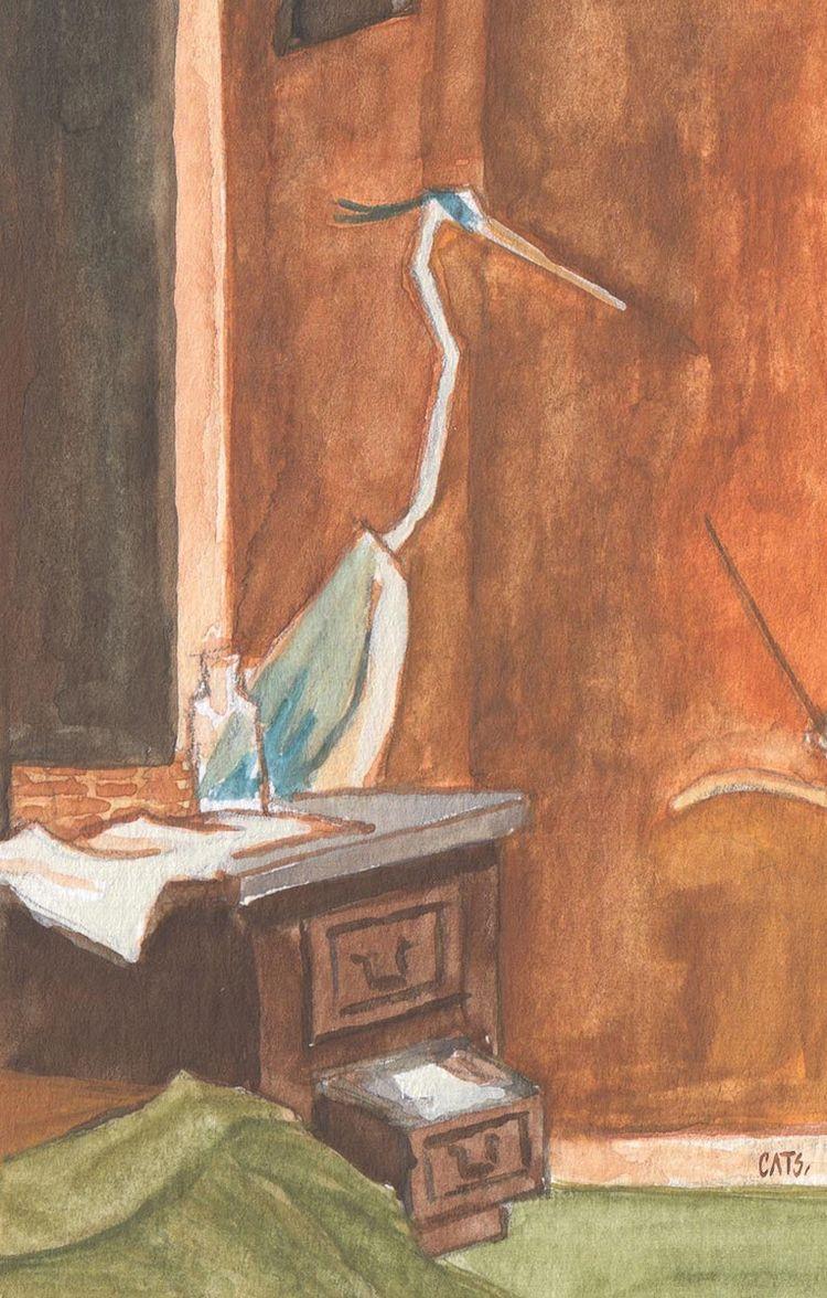 Sunday sketch | 02 2021 - gouache - catsac | ello