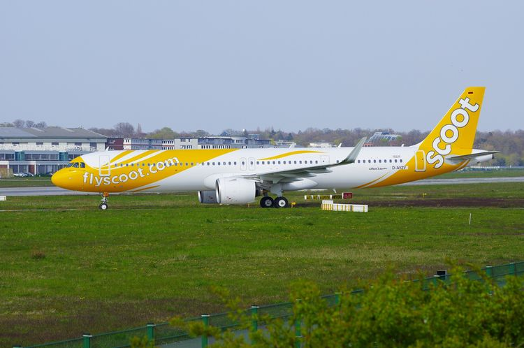 Scoot Airbus A321-271NX, 9V-NCA - brummi | ello