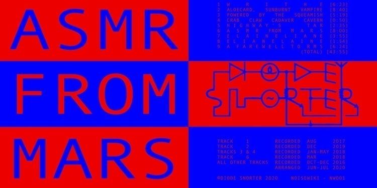 NW001 - DIODE SNORTER ASMR MARS - noisewiki | ello