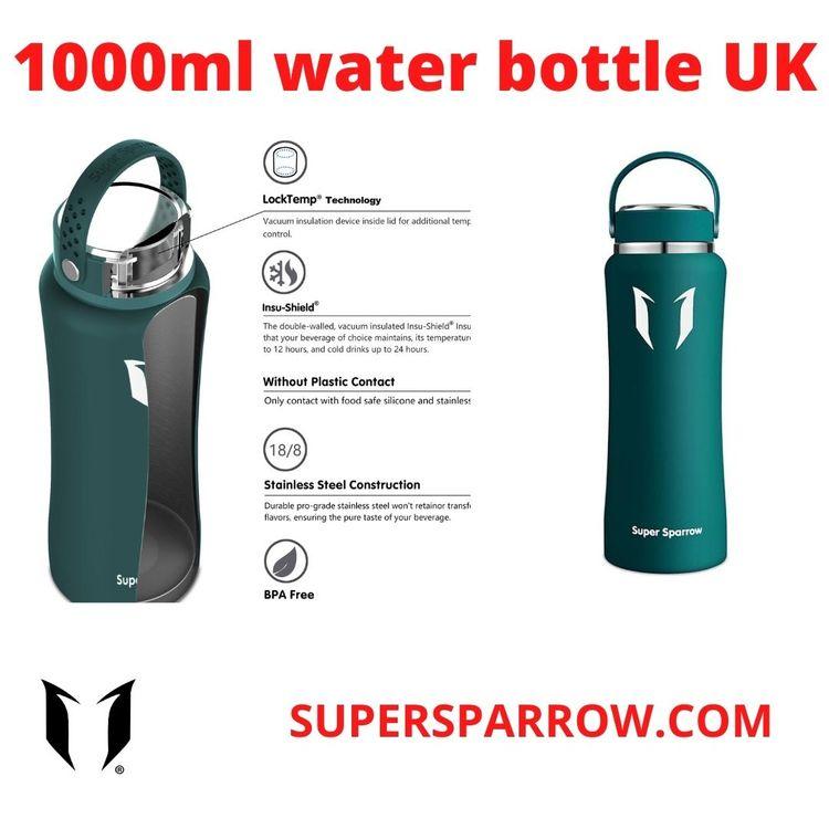 1000ml water bottle UK Super Sp - supersparrow | ello