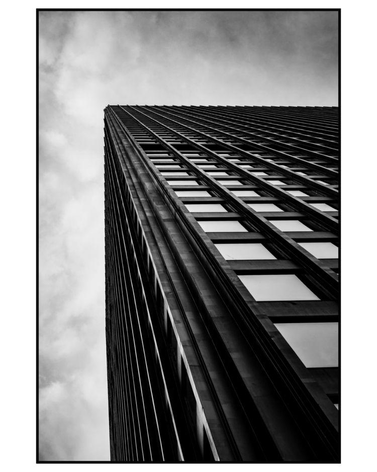 City/Sky Series: Monolith - architecture - attilaataner   ello