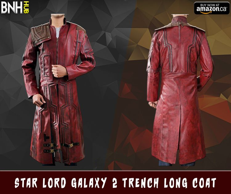 Star Lord Galaxy 2 Trench Long  - bnhleatherhub | ello