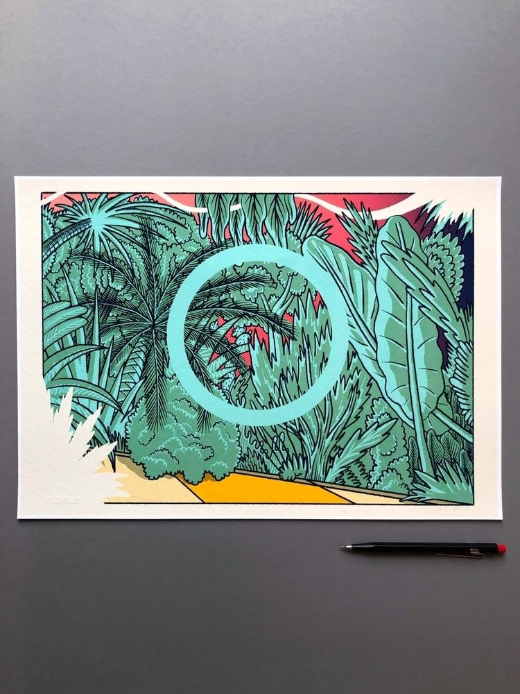Finding balance, front jungle,  - fichtre | ello