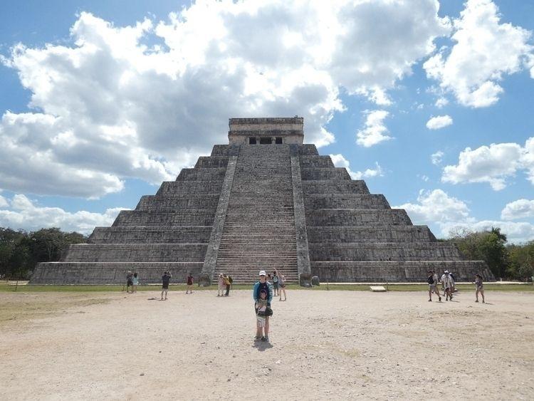 edits shot pyramid Chichen Itza - cttkdking   ello