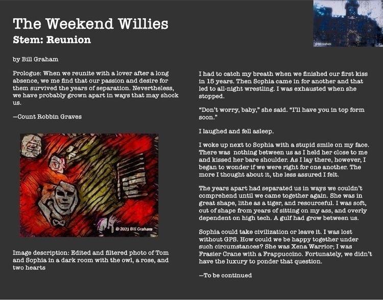Stem: Reunion Weekend Willies c - bgfl | ello