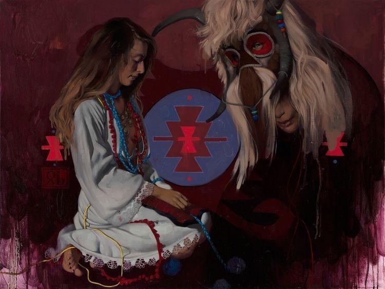 TONKA BEAST Oil canvas 60 80 cm - simonaruscheva | ello