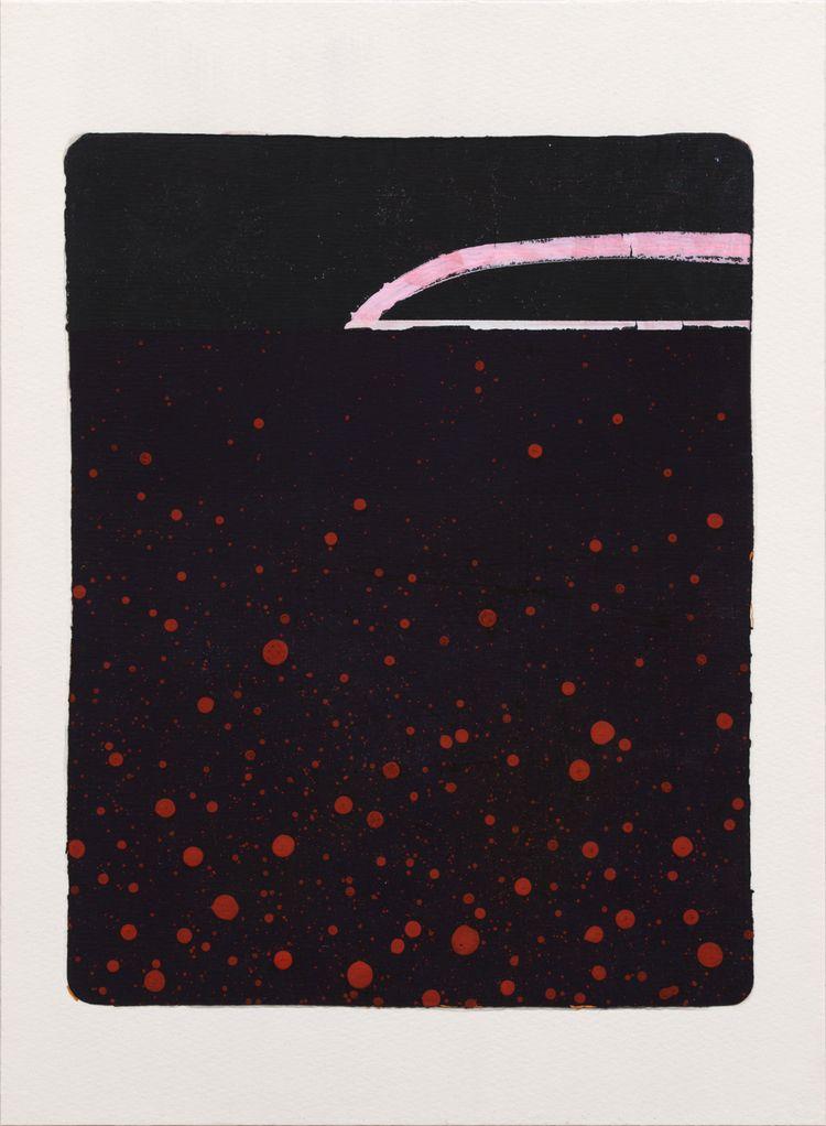Night Sea, 2021 Monotype paper  - kazuhirohigashi | ello