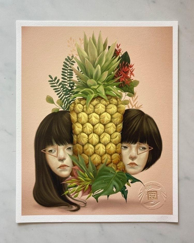Acrylics fine art prints. piece - christinerbay | ello
