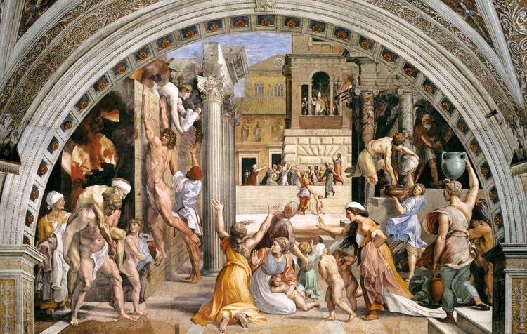 Raphael, Fire Borgo, 1514-1517 - geeksusie   ello
