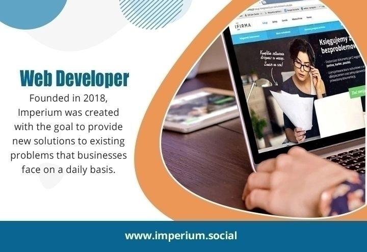 Web Developer Kingston Website  - imperiumsocial | ello